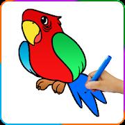 Birds Coloring Games
