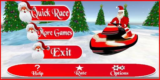 Santa Snow Race