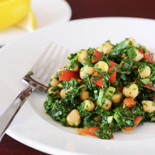 Chickpea and Spinach Salad Recipe