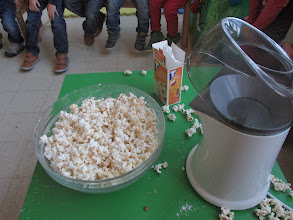 Photo: popcornfeest in namiddag