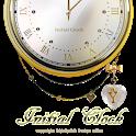 イニシャル【H】アナログ時計ウィジェット icon
