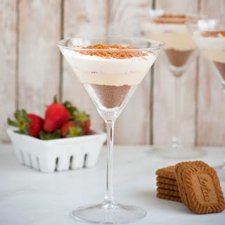Strawberries & Cream Biscoff Cookie Parfait