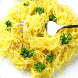 Garlic Parmesan Spaghetti Squash.