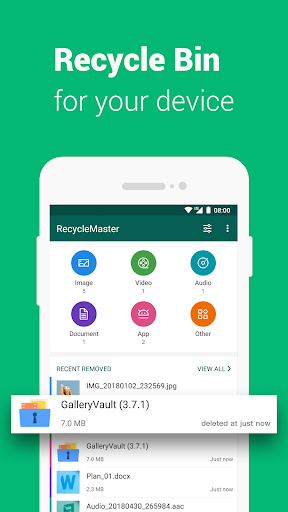 RecycleMaster: RecycleBin, File Recovery, Undelete ss2