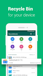 RecycleMaster: RecycleBin, File Recovery, Undelete 2