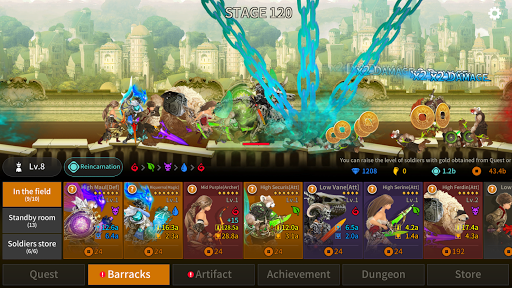 Everyday Fight : Idle RPG 30 screenshots 5