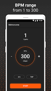Download Metronome Free App - Rhythm and BPM Counter For PC Windows and Mac apk screenshot 1