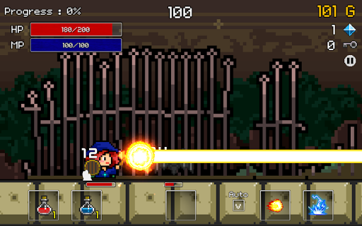 Buff Knight Advanced! - Retro RPG Runner - screenshot