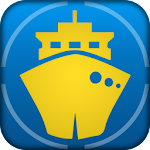 Marine Traffic Finder : Ship Positions Tracker Icon