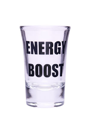 "Snapsglas ""Energy boost"""