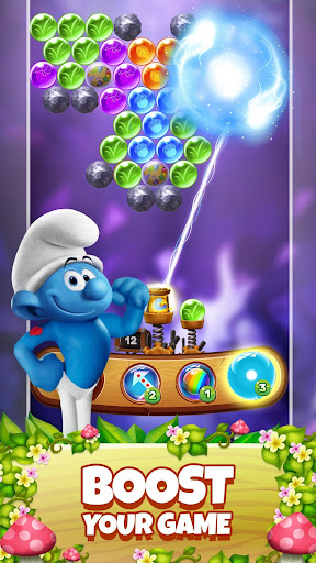 Smurfs Bubble Shooter Story 2.15.050204 screenshots 5