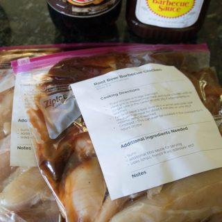 Root Beer BBQ Chicken Freezer Meal Recipe