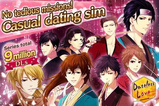 Dateless Love: Otome games english free dating sim 1.1.0 Mod screenshots 1