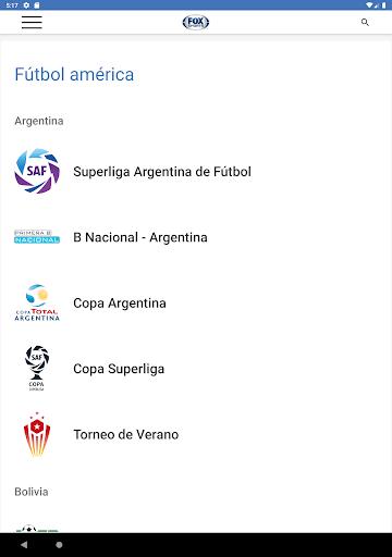 FOX Sports Latinoamu00e9rica 9.1.5 Screenshots 11