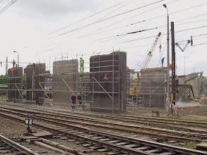 Photo: Przebudowa wiaduktu {Toruń Wschodni; 2004-05-19}