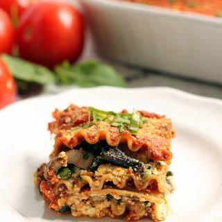 Easy Vegan Lasagna.