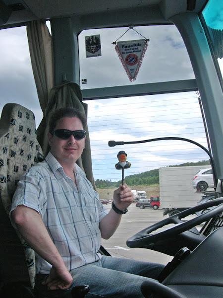 Photo: my bus driver markus