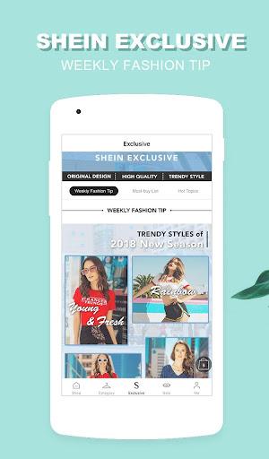 SHEIN - Fashion Shopping Online 6.2.6 screenshots 4