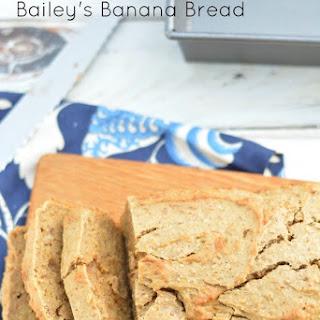 Gluten Free Bailey's Banana Bread