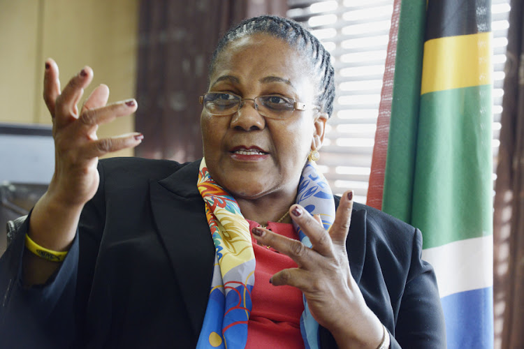 Transport Minister Dipuo Peters. Picture: ARNOLD PRONTO