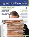 Ergonomics Canada magazine image