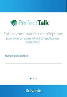 PerfectTalk - náhled