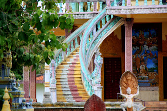 Photo: Year 2 Day 39 - Steps of the Wat  (Moung Ruessie)