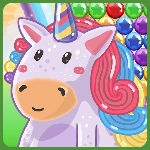 Bubble Pop: Cute Unicorn