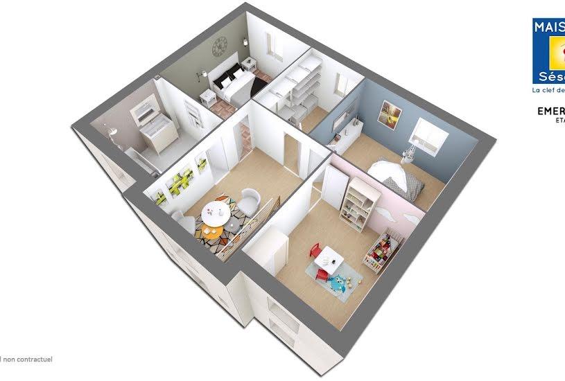 Vente Terrain + Maison - Terrain : 470m² - Maison : 120m² à Longperrier (77230)
