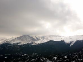 Photo: Afternoon storms rolling in on Longs Peak