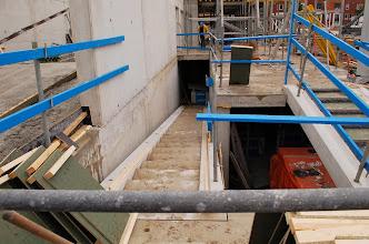 Photo: De trap naar de kelder