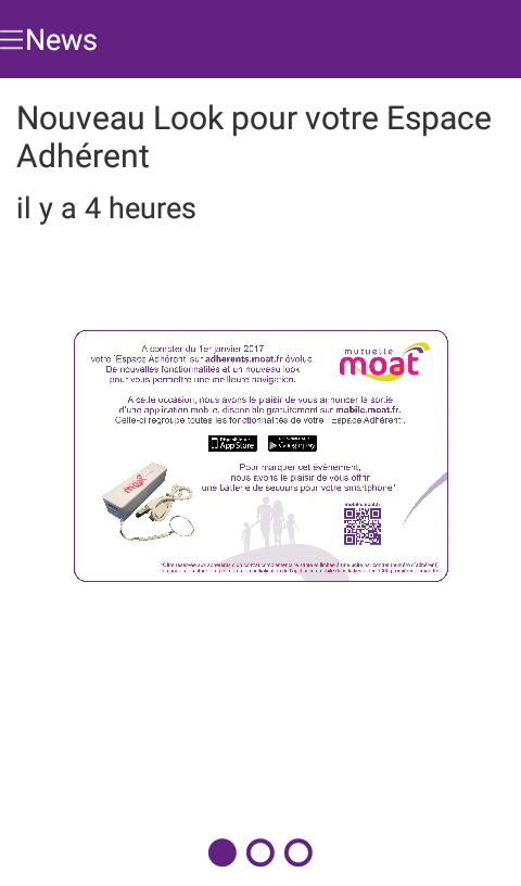 MOAT Mutuelle- screenshot