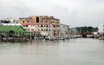 Photo: Pienvenesatama Belize Cityssä