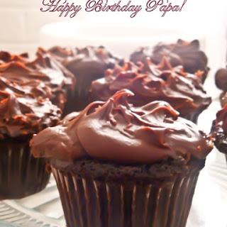 Chocolate Cupcakes with Salted Caramel Chocolate Ganache Recipe