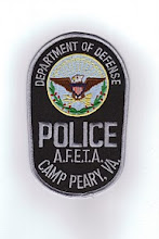 Photo: United States Department of Defense Police at Camp Peary