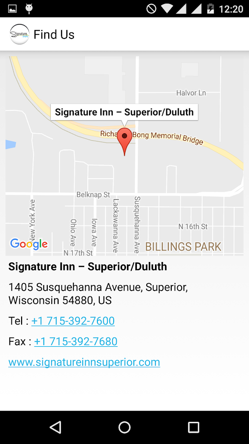 Signature Inn Superior-Duluth- screenshot