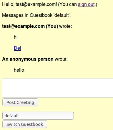 Normal user login
