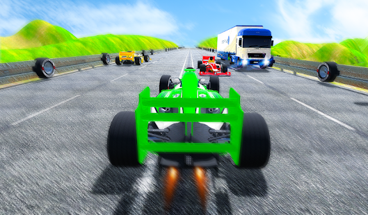 Fast Speed In Car Racing