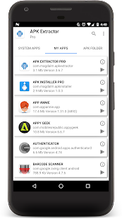 APK EXTRACTOR PRO Screenshot
