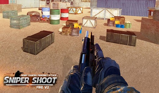 Army Counter Terrorist Attack Sniper Shoot Fire V2 6