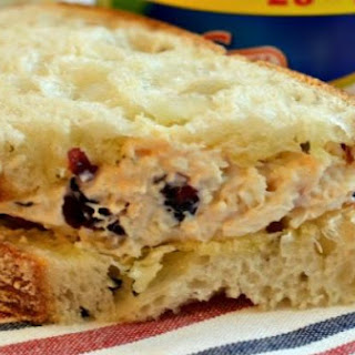 Pine Nut and Cranberry Picnic Chicken Salad