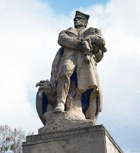 Photo: Pomnik polskiego legionisty 8 (wariacja z tłem)