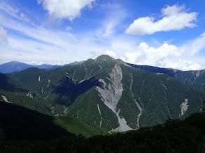 塩見岳近影