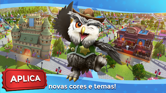 RollerCoaster Tycoon Touch Apk Mod Dinheiro Infinito 7