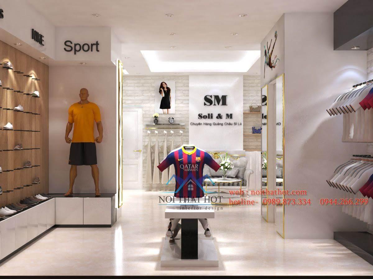 thiết kế shop thời trang sm 1