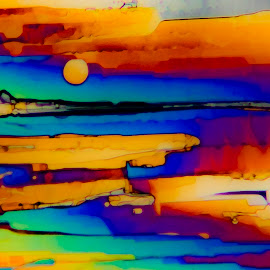 Southwest Sunset by Scott Taft - Abstract Patterns ( southwest, micro, sunset, sunsets, abstract )