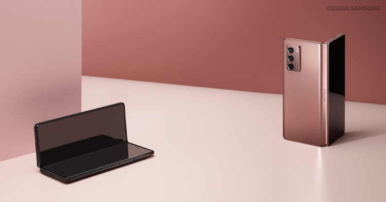 What Samsung has managed to do with the Galaxy Z Fold2 is launch an all-new and innovative smartphone category – the two-in-one device. Picture: SUPPLIED/SAMSUNG