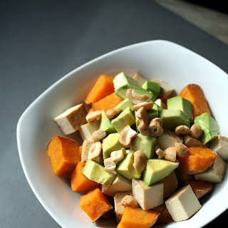 Sweet Potato, Tofu, and Avocado Breakfast Bowl.