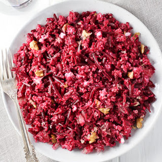 Beet Quinoa Salad with Goat Cheese and Grapefruit Recipe