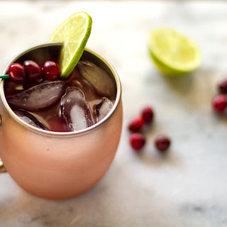 Cranberry Moscow Mule.